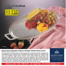 Oval Footed Tray (39cm)
